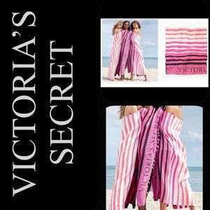🆕😍 Victoria's Secret Throw Beach Blanket